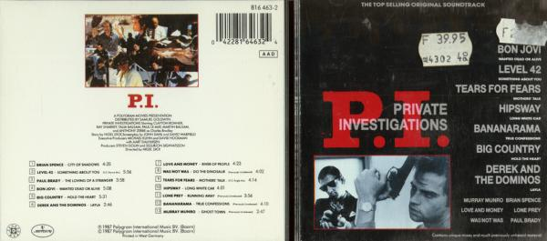 P.I. Soundtrack