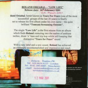 Roland's new Low Life Promo Cd